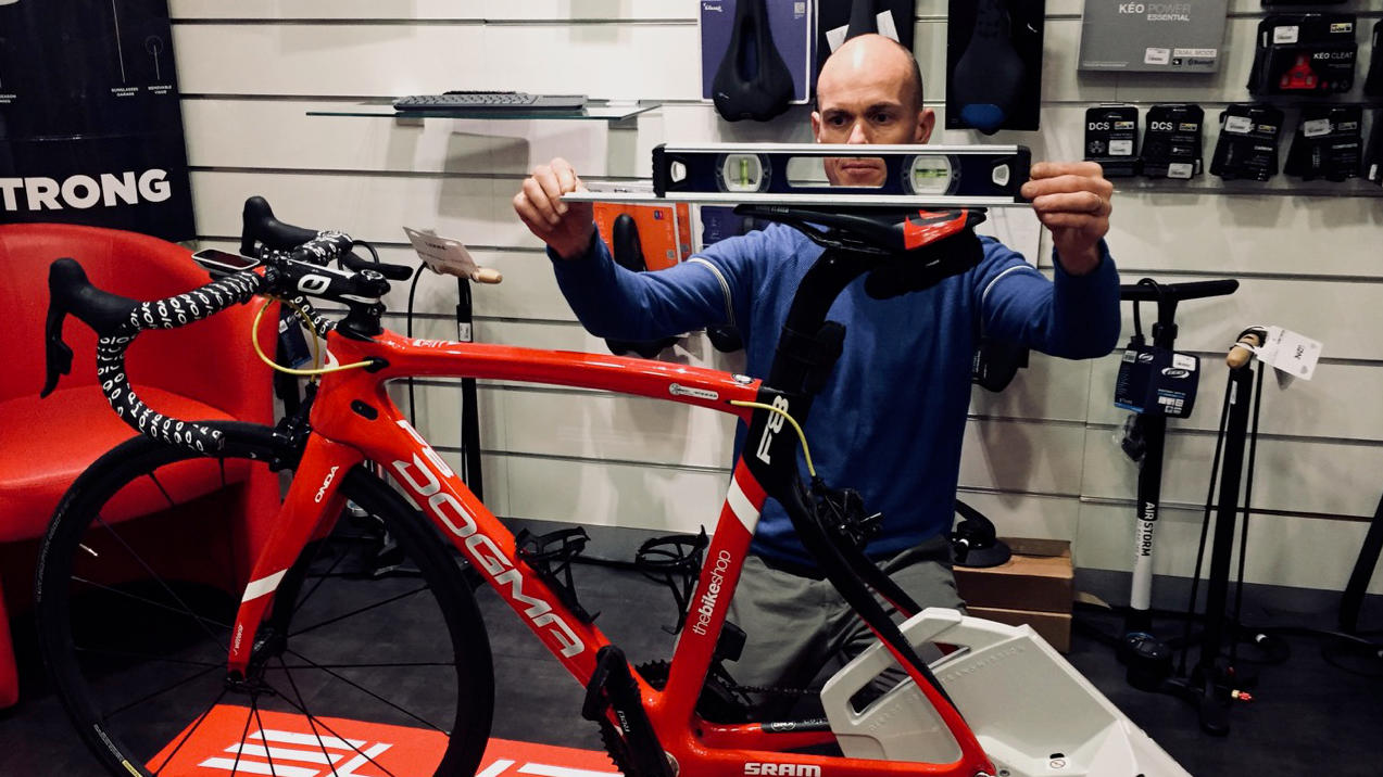 Etude Posturale Bikefit the bike shop Monaco