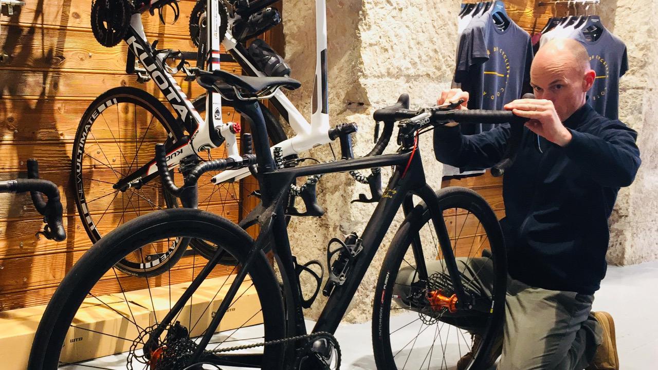 Etude Posturale Bikefit Positionnement Café du Cycliste Nice 06000