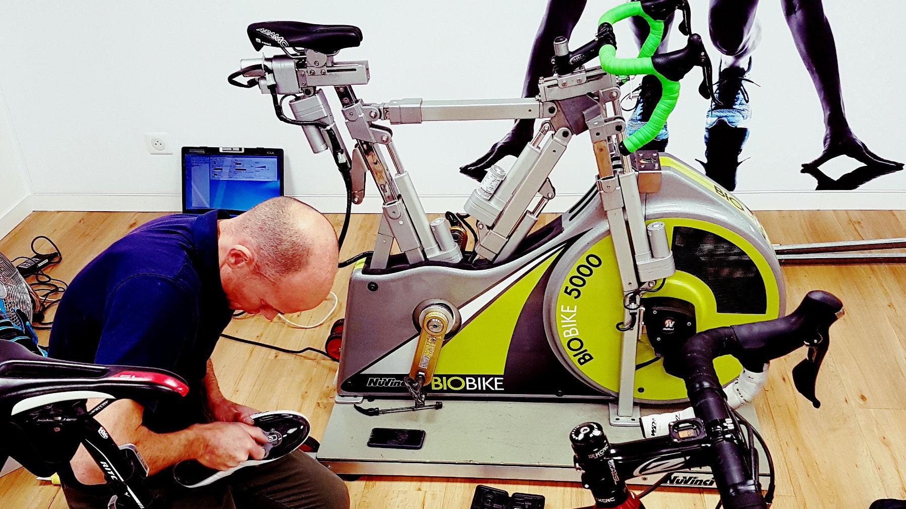 Etude Posturale Bikefit cotes vélo cadre sur mesure
