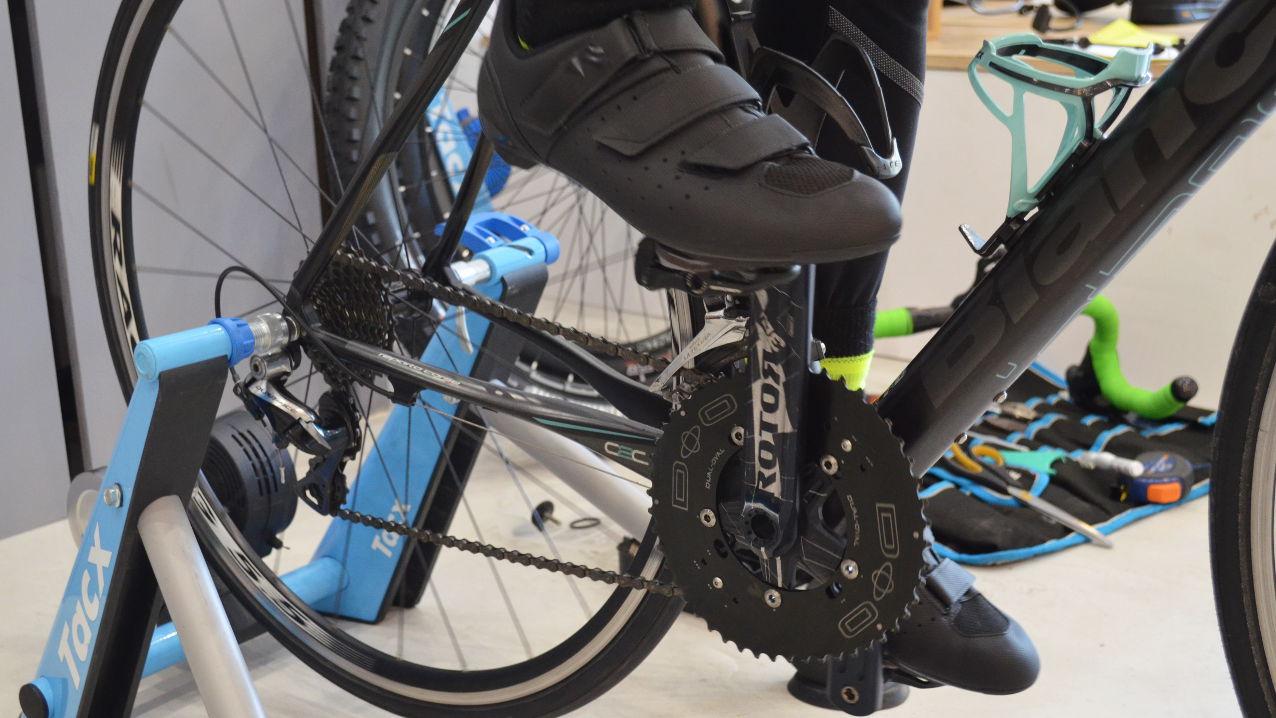 Positionnement des cyclistes pour l'Étape du Tour 2020